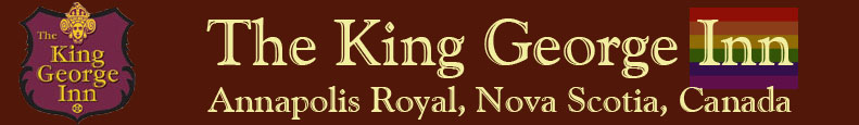 King George Inn, Annapolis Royal, Nova Scotia, Canada